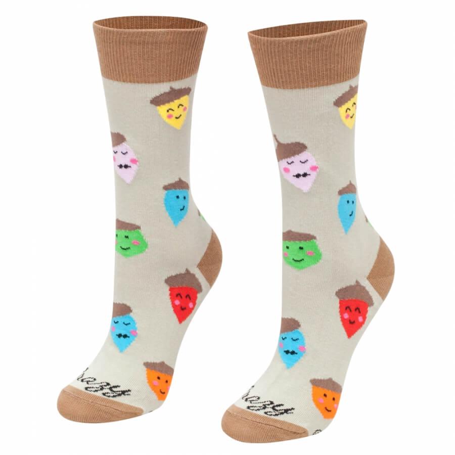 DETSKÉ ponožky žalude