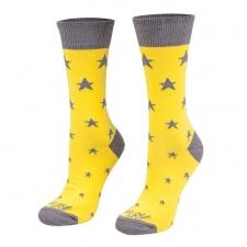 Detail produktu Ponožky Hviezdy žlté