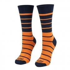 Detail produktu Ponožky pásiky oranžové