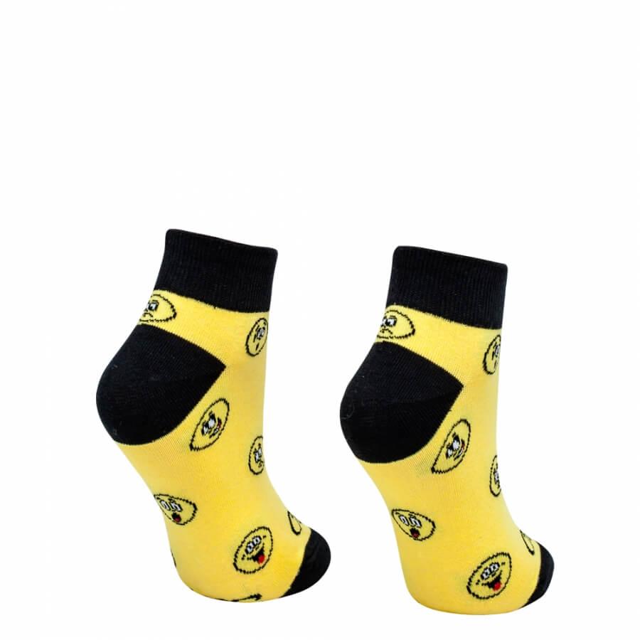 Ponožky smajlík krátky