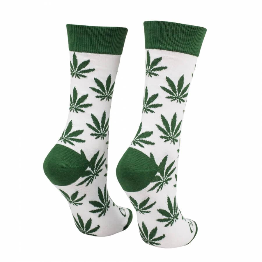 Detské ponožky Mariša zelená