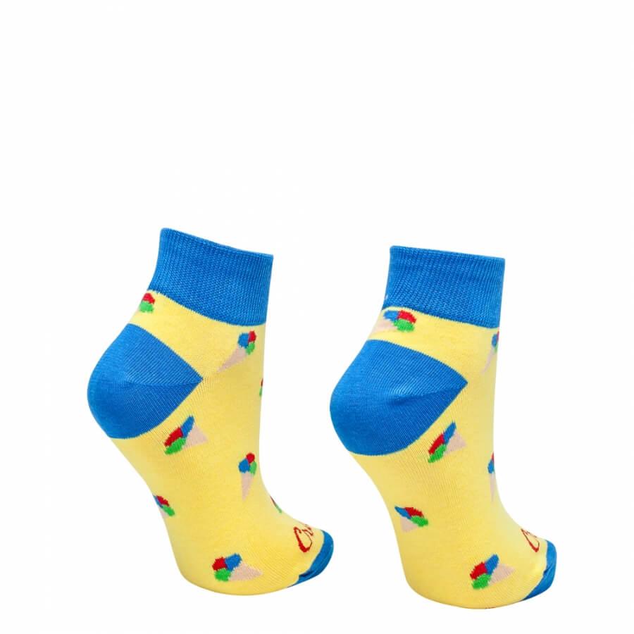 Ponožky zmrzlinky krátke