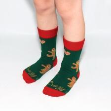 Detail produktu Vianočné ponožky perníčky pre deti