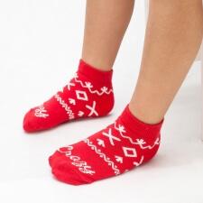 Detail produktu DETSKÉ Ponožky Čičmany červené