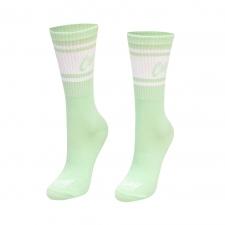 Detail produktu Vysoké športové ponožky zelené/mint