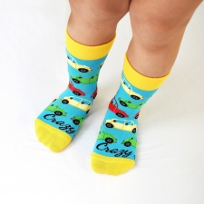 Detail produktu DETSKÉ ponožky autá