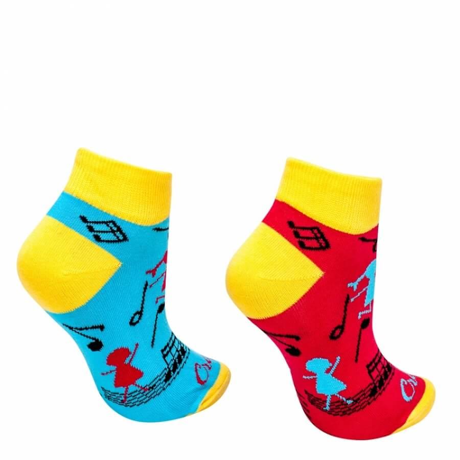 Ponožky Hudobná nálada krátke