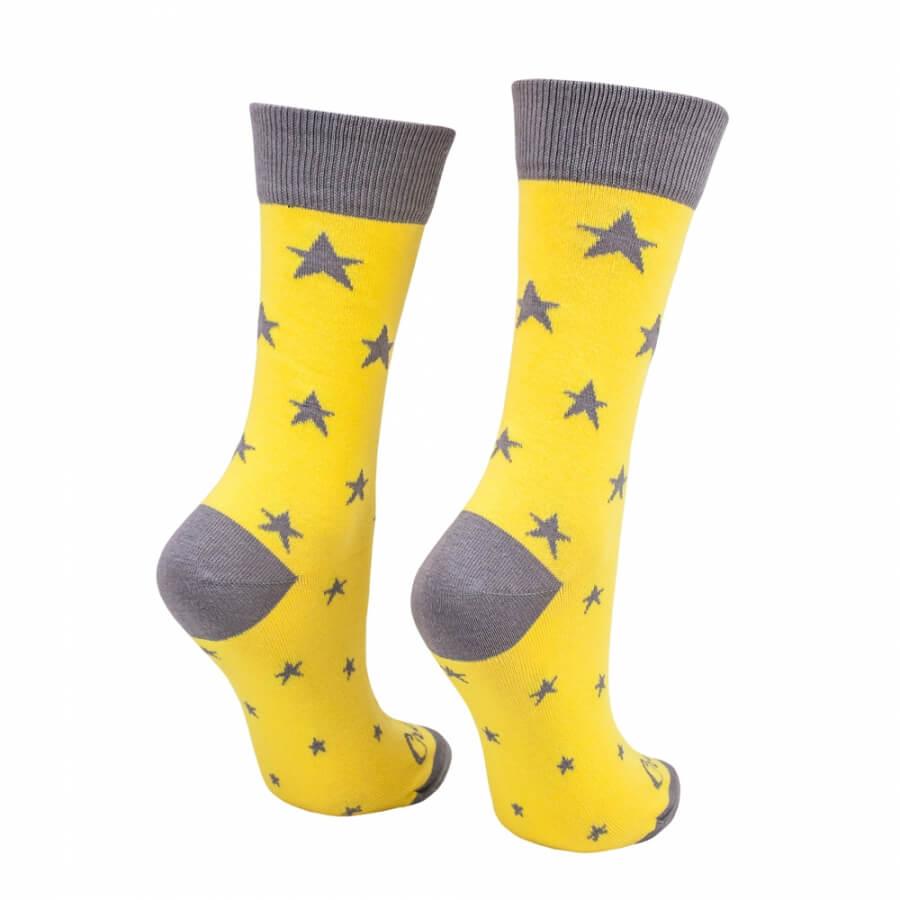 Ponožky Hviezdy žlté
