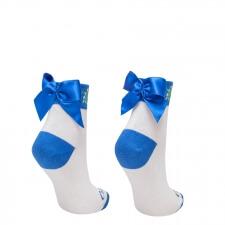 Detail produktu Folkové ponožky s mašľou