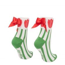 Detail produktu Ponožky s mašľou Tulipán