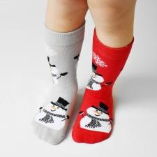 Detail produktu DETSKÉ ponožky vianoční snehuliaci