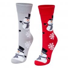 Detail produktu Ponožky Vianoční snehuliaci