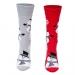 Ponožky Vianoční snehuliaci