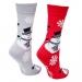 DETSKÉ ponožky vianoční snehuliaci