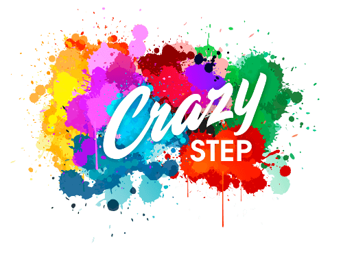 Naše Crazy Step logo